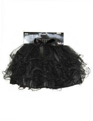 Layered Women's Black Tutu Costume Accessory