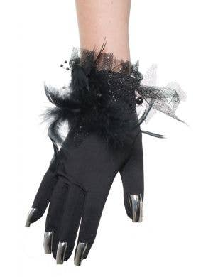 Witch Fingernail Halloween Costume Gloves
