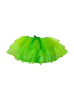1980's Neon Green Women's Costume Tutu