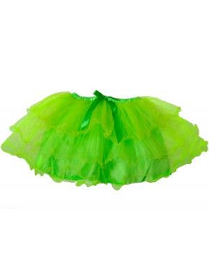 1980's Neon Green Women's Costume Tutu