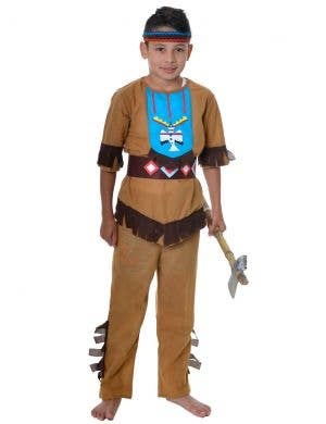 Native American Indian Boy's Dress Up Costume