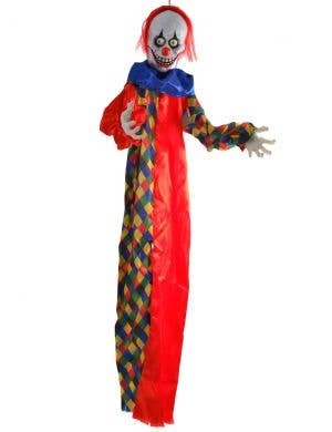 Animated Light Up Clown Halloween Decoration