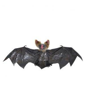 Hanging Black and Brown 30cm Vampire Bat Halloween Decoration