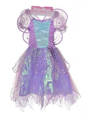 Fairy Princess Girls Purple Fancy Dress Costume