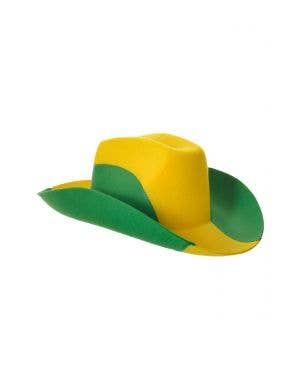 Australian Green and Gold Outback Novelty Akubra Hat