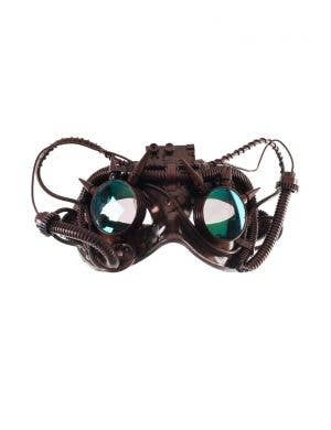 Antique Steampunk Copper Goggles Mask