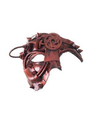 Antique Steampunk Copper Over Eye Mask