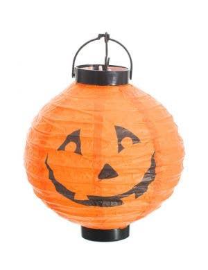 Mini Light Up Orange Pumpkin Lantern Halloween Decoration