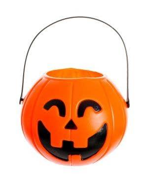 Pumpkin Jack O'Lantern Halloween Trick or Treat Bucket
