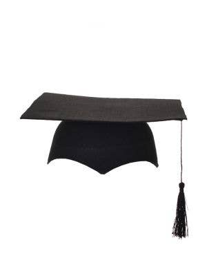 Mortar Board Black Graduation Costume Accessory