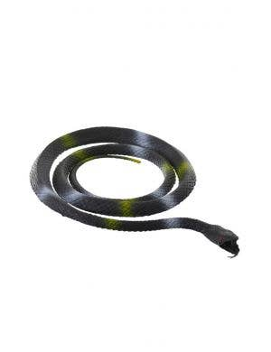 Coiled Black and Green Snake Halloween Decoration