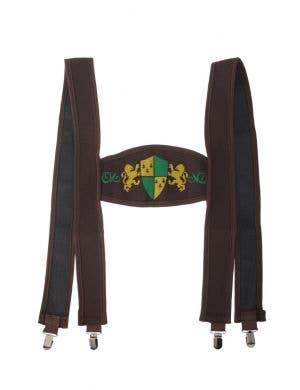 Oktoberfest German Lederhosen Suspenders