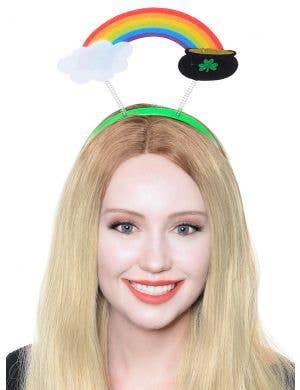 Pot Of Gold St Patricks Day Costume Headband