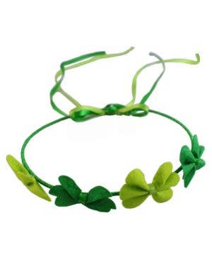 St Patrick's Day Green Clover Headband Costume Accessory