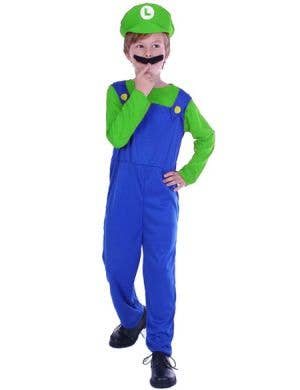 Plumber Boy Luigi Boys Book Week Costume