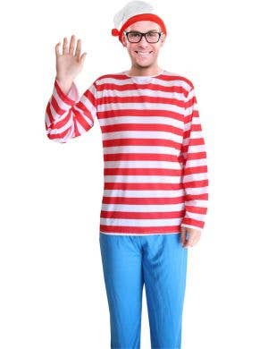 52877964fce56f Where s Wally Men s Fancy Dress Costume