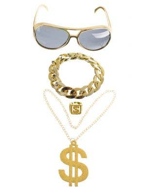 3ce9365fa910 Gangster Rapper Jewellery Accessory Kit