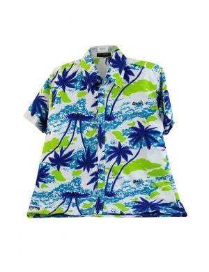 Tropical Hawaiian Print Men's Costume Shirt
