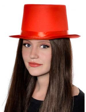 Classic Red Adult's Top Hat Costume Accessory