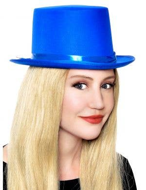 Classic Blue Adult's Top Hat Costume Accessory