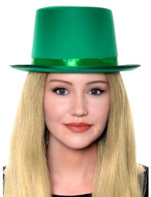 Classic Green Adult's Top Hat Costume Accessory