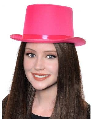Classic Pink Adult's Top Hat Costume Accessory