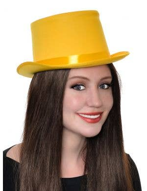 Classic Adult's Yellow Top Hat Costume Accessory