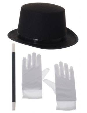 Magician Hat and Wand Costume Kit