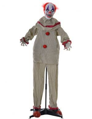 Haunted House Animated Scary Clown Halloween Decoration