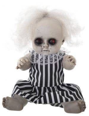 Evil Baby Girl with Light Up Eye's 30cm Halloween Decoration - Beetlejuice