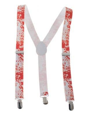 Blood Splatter Halloween Novelty Suspenders