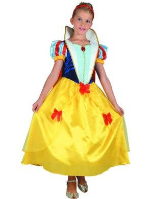 Snow White Girls Fancy Dress Costume