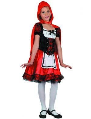Riding Hood Red Girl's Fancy Dress Costume