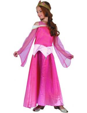 Sleeping Beauty Classic Girls Fairytale Costume