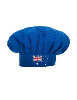 Australian Flag Blue Chef's Novelty Australia Day BBQ Hat
