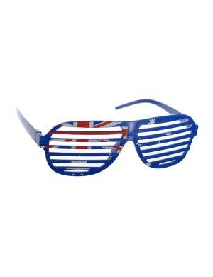 Australian Flag Novelty Shutter Glasses