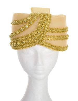 Adult's Gold Padded Foam Indian Turban