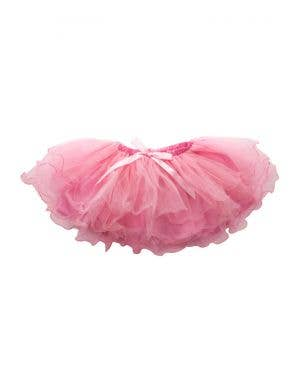 Fluffy 3 Layered Girl's Light Pink Petticoat