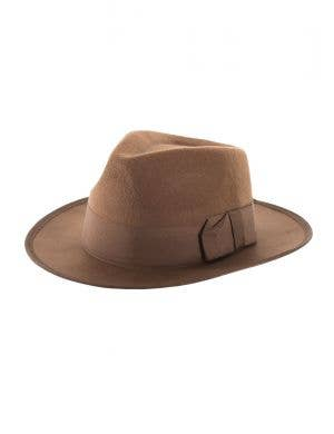 Adultu0027s Brown Feltex Fancy Dress Costume Hat