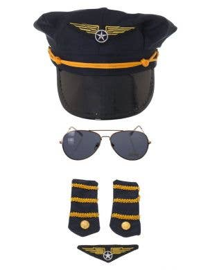 Aviator Pilot Adult's Costume Accessory Kit