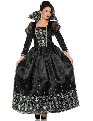 Dark Gothic Queen Women's Halloween Costume