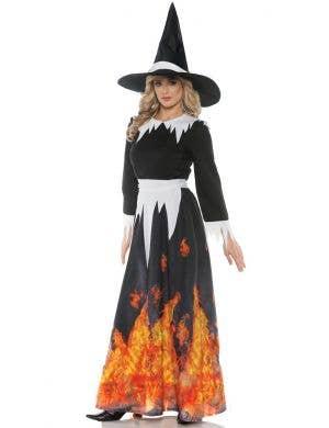 Salem Witch Women's Halloween Fancy Dress Costume