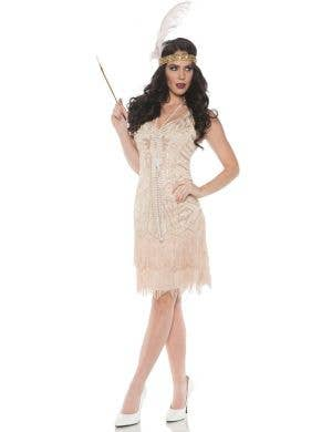 Ritzy Rose 1920's Sexy Beaded Women's Flapper Costume
