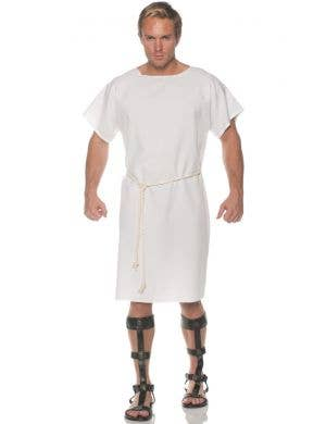 Ancient Toga Men's Plus Size Roman Costume