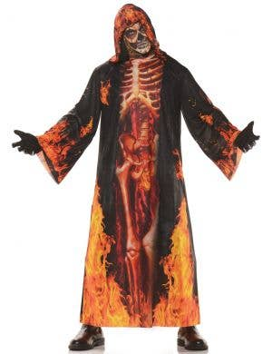 Underworld Skeleton Lord Men's Halloween Costume
