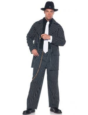 Zoot Suit Men's Plus Size Roaring 20s Pinstripe Costume