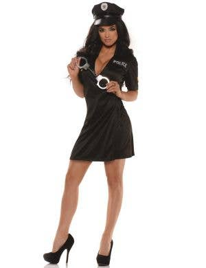 Pull Over Women's Sexy Police Fancy Dress Costume