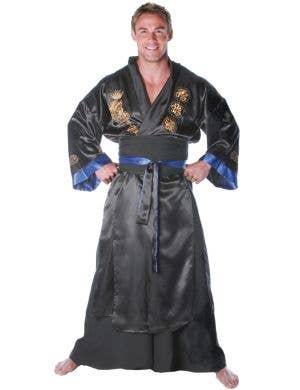 Samurai Warrior Men's Japanese Fancy Dress Costume