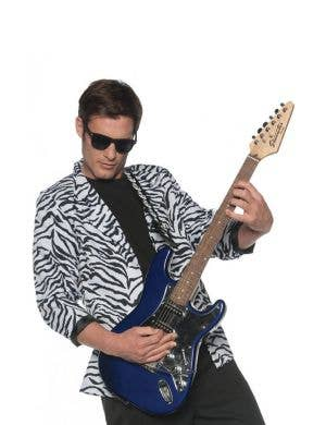 Radical Men's Zebra Print Costume Jacket