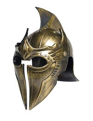 Roman Antique Gold Spartan Costume Helmet